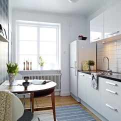 Small Apartment Kitchen Ideas Tables And Chairs White Interior Design