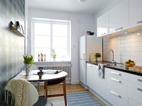 white small apartment kitchen | Interior Design Ideas.