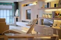 accessorized white shelving modern living steve leung ...