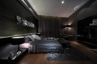 High Gloss, High Contrast, High Drama Interiors