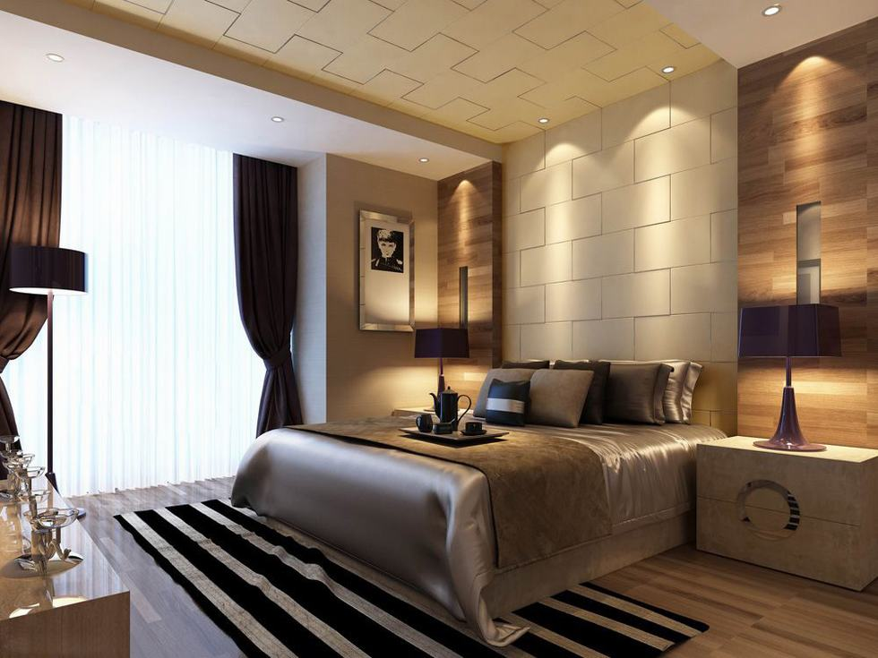 Bedroom Luxury Design  Home Decoration Live
