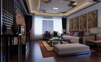 flat screen chinese feature wall modular lounge | Interior ...