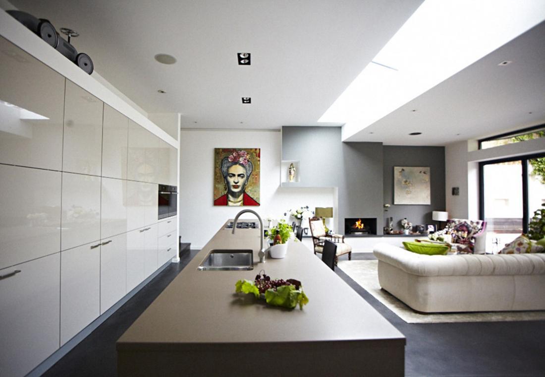 modern victorian home living space 4  Interior Design Ideas