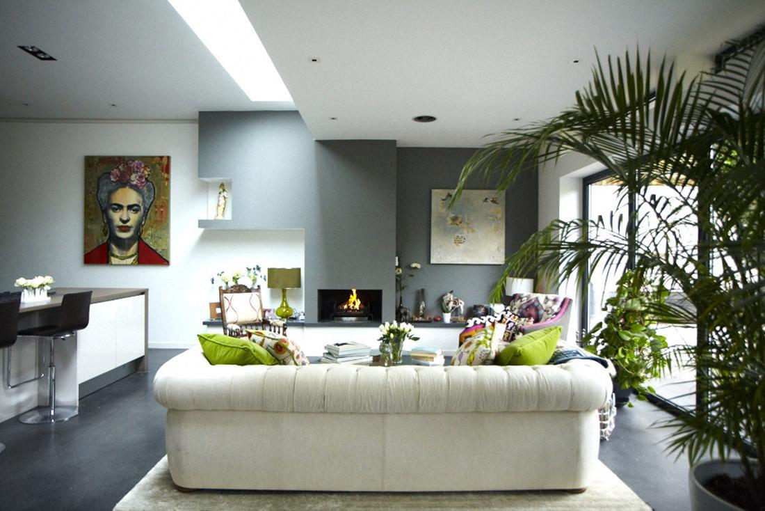 modern victorian home living space 7  Interior Design Ideas
