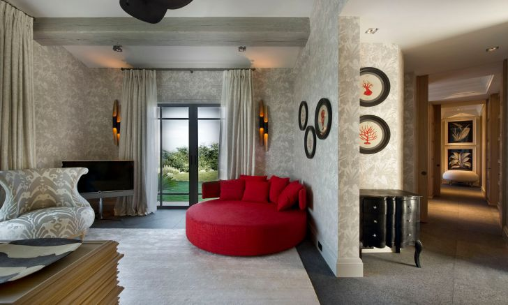 Red accented hall full hd interior design ideas for hall of small spaces mobile phones