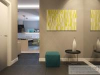 young family apartment entrance | Interior Design Ideas.