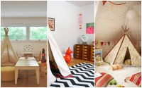 Native american tepee childrens playrooms   Interior ...
