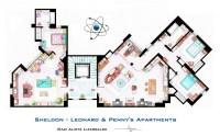 The Big Bang Theory- Sheldon, Leonard and Pennys ...
