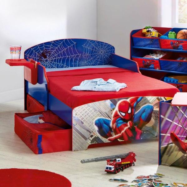 Little Boys Spider-Man Bedroom