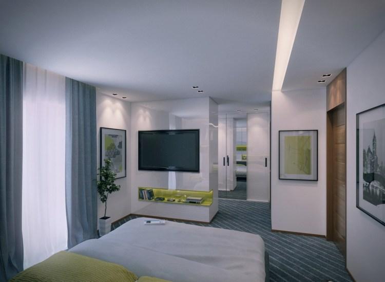 Contemporary Apartment Bedroom 3interior Design Ideas