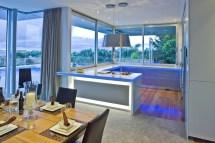 Grey And Blue Modern Kitchen Interior Design Ideas