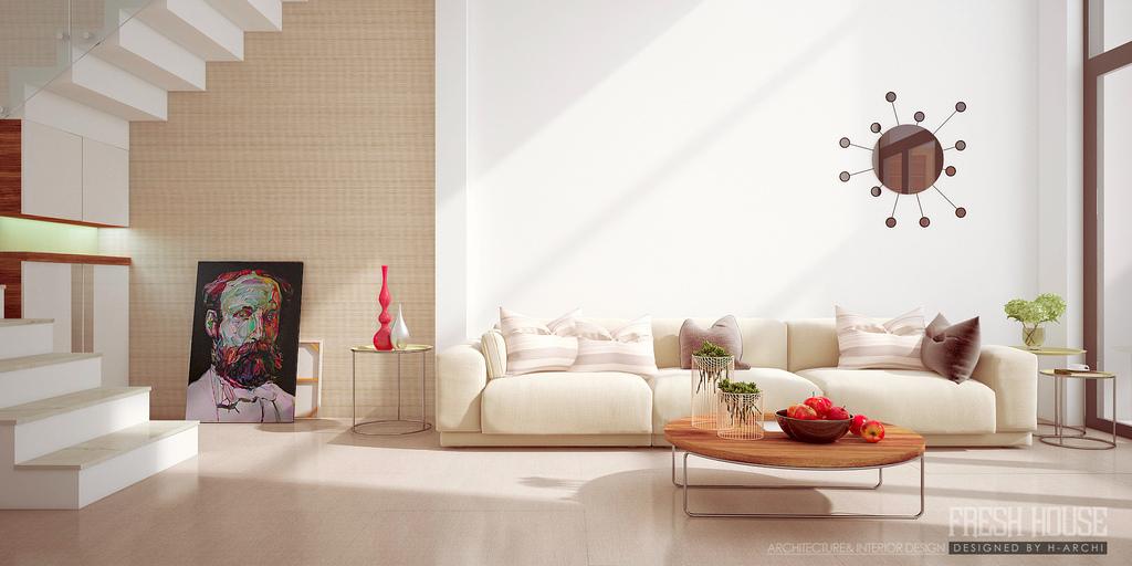 living room beige  Interior Design Ideas