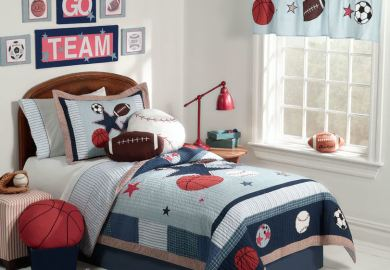 Sports Theme Bedroom Ideas Boys