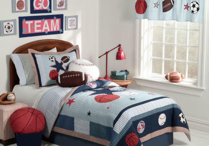 Sports Theme Bedroom Ideas Boys