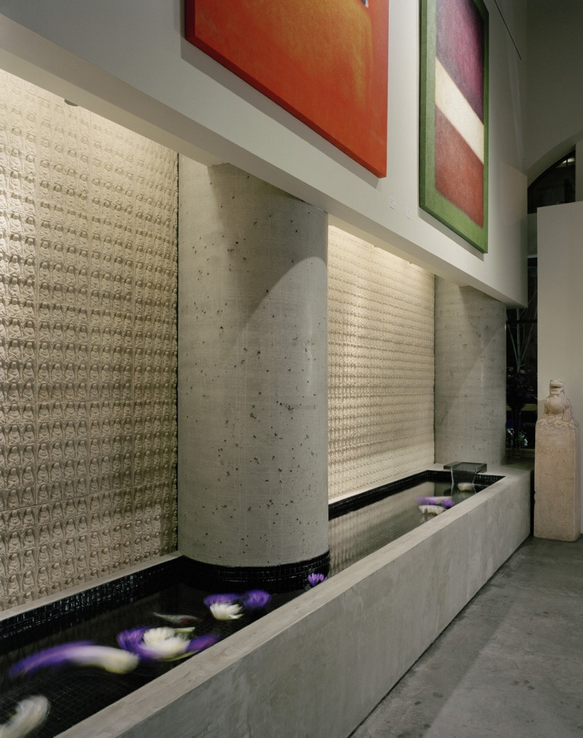 Baan Design Futuristic Lotus Water Lilly Indoor Pond