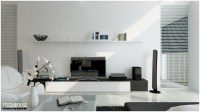 white living room   Interior Design Ideas.