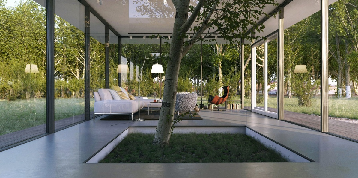 living room tree storage table le anh white with indoor feature interior design ideas like architecture follow us