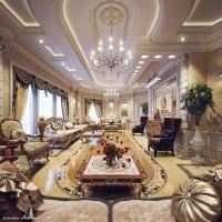 luxury villa living room 5 | Interior Design Ideas.