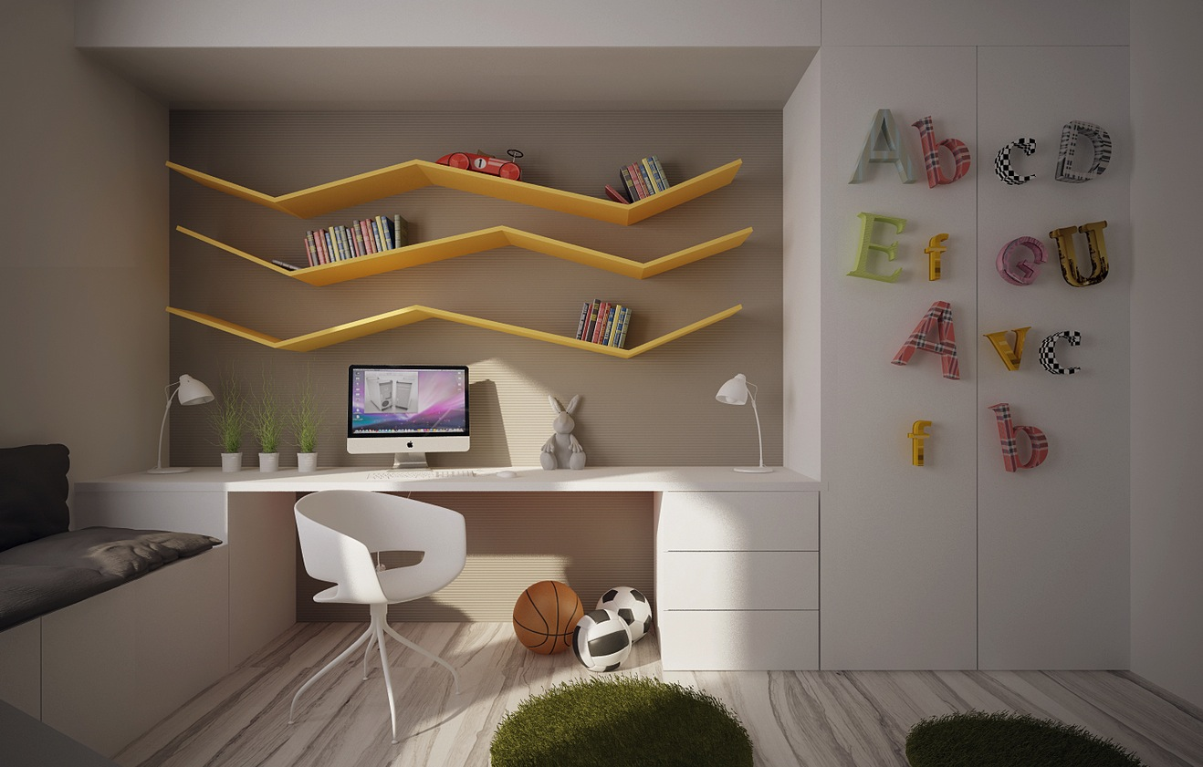 Kids Room Wall Design