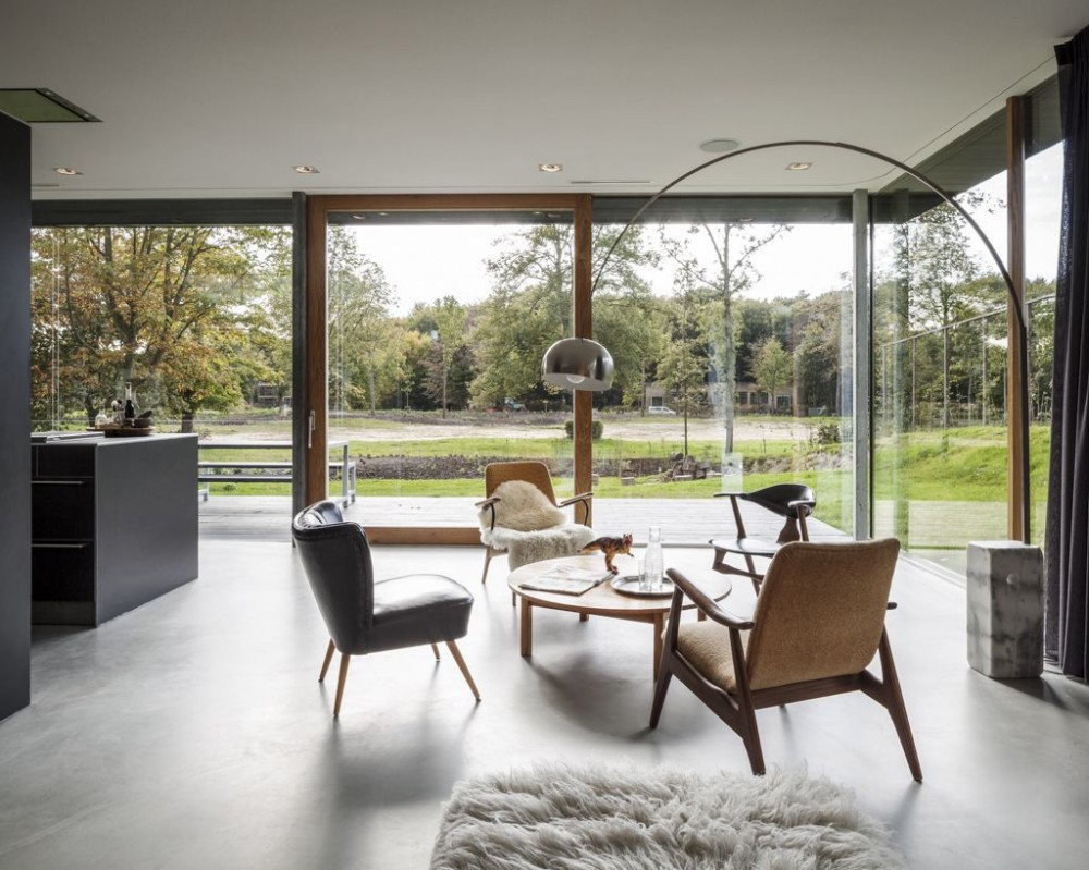 Modern Rural Home living area 2  Interior Design Ideas