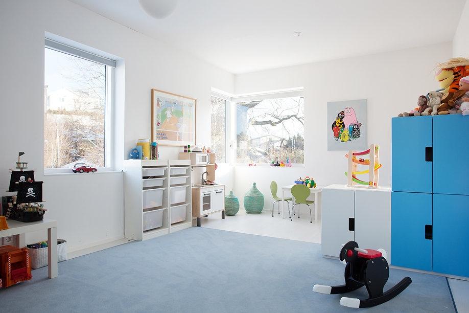 Modern Swedish Villa Bedroom 2  Interior Design Ideas