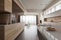 Natural modern decor kitchen
