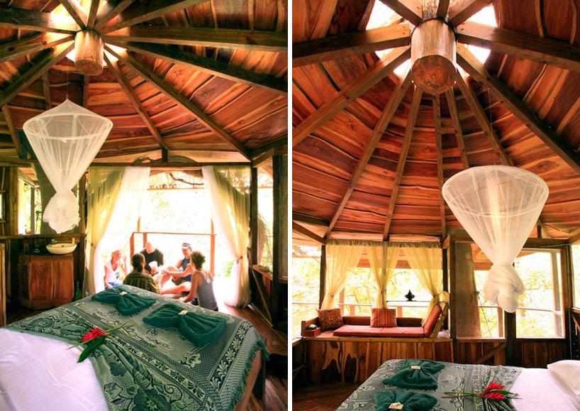Sustainable Treehouse Interior 1 Interior Design Ideas