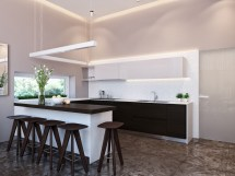 Modern Dining Room Kitchen Designs