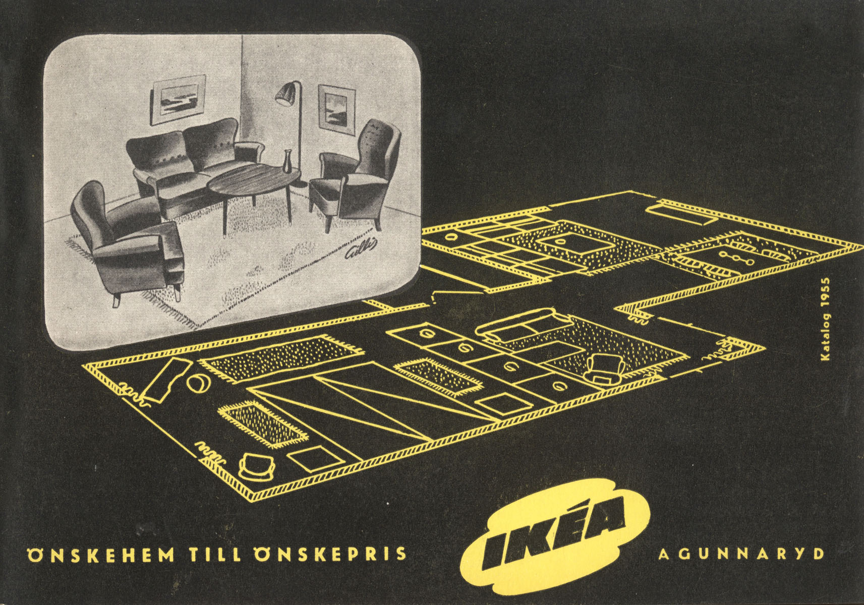 IKEA Catalog Covers from 19512018