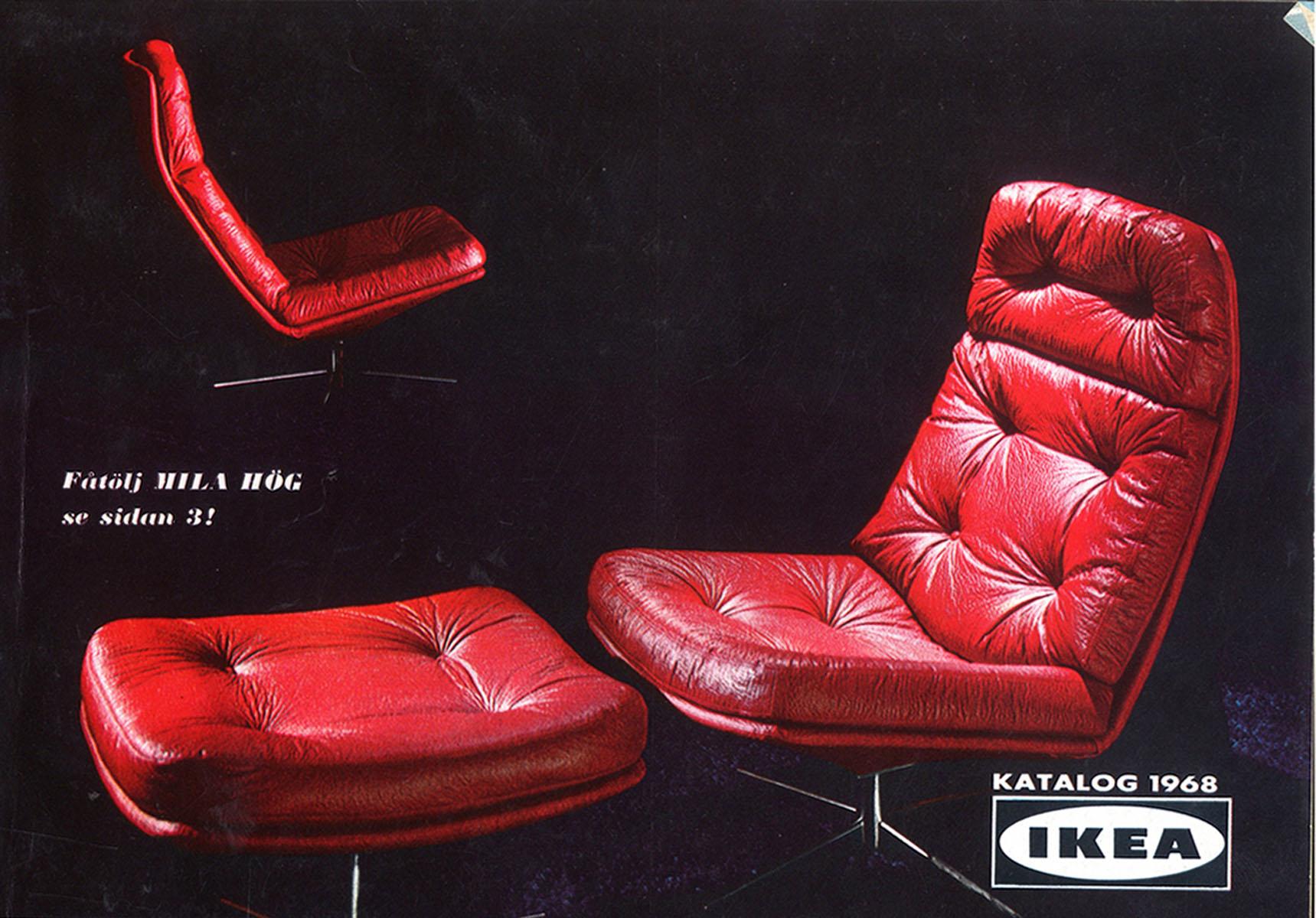 IKEA 1968 Catalog Interior Design Ideas