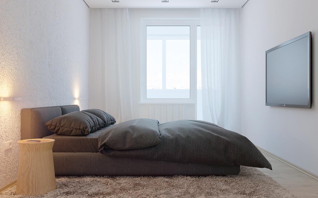 Russian Apartment Master Bedroom 1  Interior Design Ideas