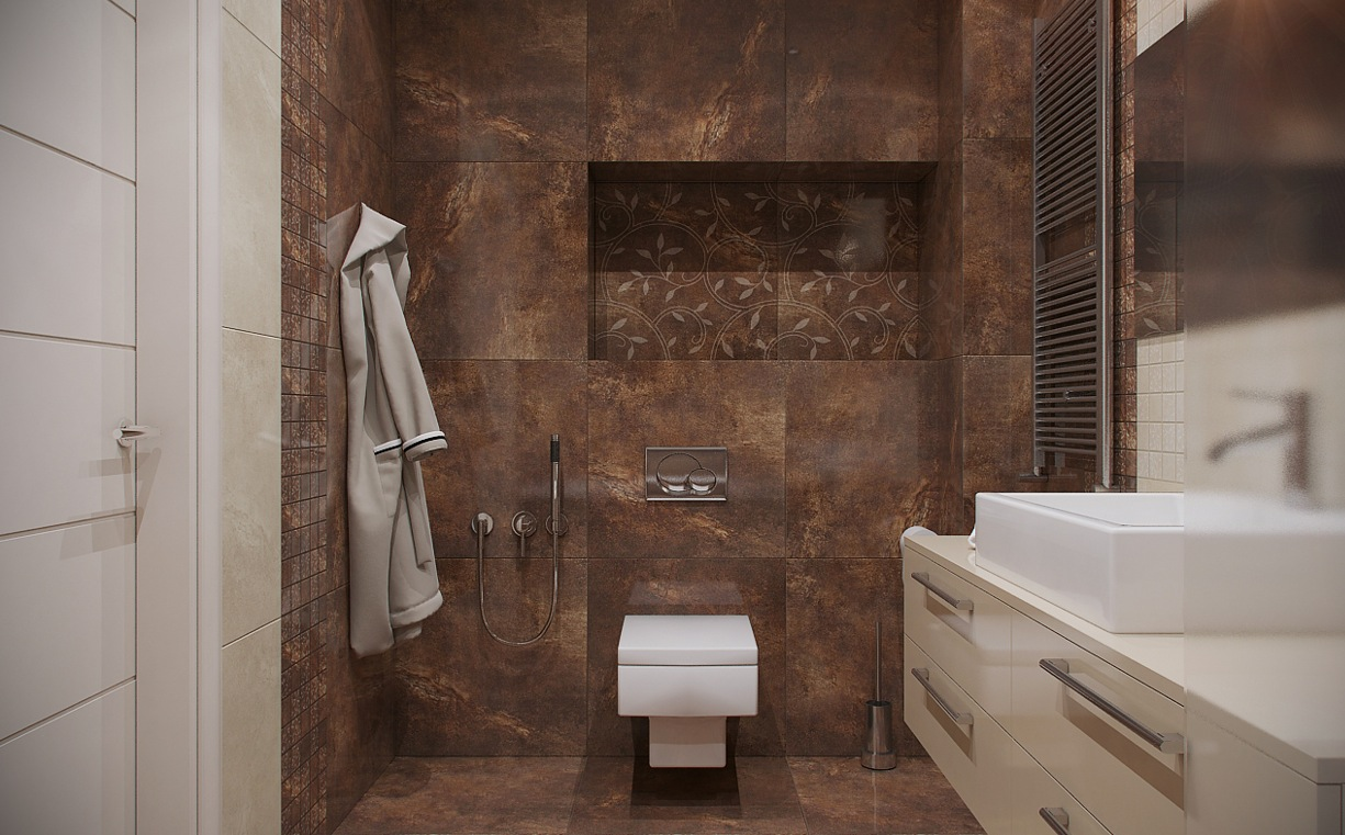 marble kitchen floor electronics urban loft by nordes design