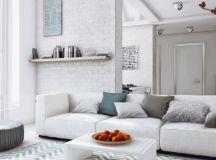 Dark Moody Bachelor Pad Design: 2 Single Bedroom L-Shaped ...