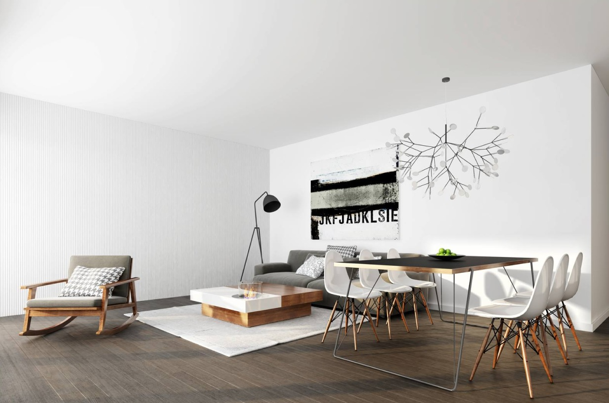 minimalist living  Interior Design Ideas