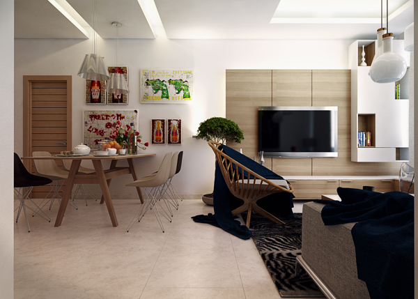 Five Apartments By Koj Design [Visualized]