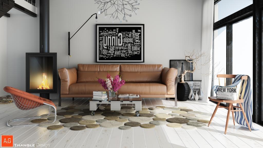 unique living room rug  Interior Design Ideas