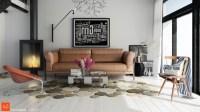 unique living room rug | Interior Design Ideas.