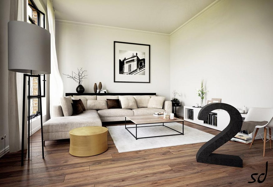 15 Beautiful Living Rooms That We Came Across Recently
