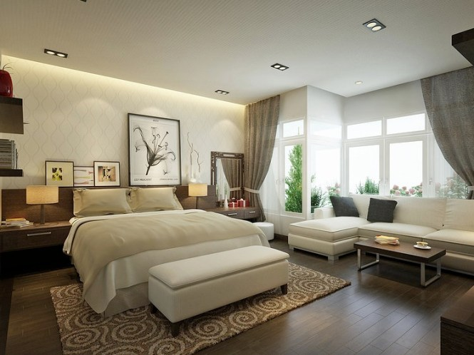 Great Benefits Of Having Romantic Master Bedroom Decorating Ideas Sitting Area Furniture And