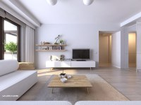 clean white apartment design | Interior Design Ideas.