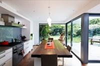 glass wall kitchen | Interior Design Ideas.