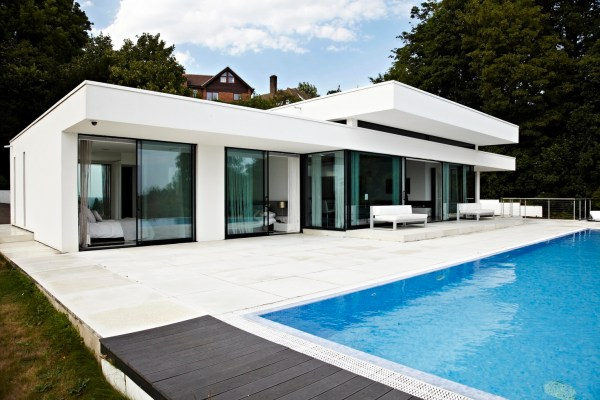 Houses with Glass Walls