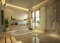 in ground tub bathroom | Interior Design Ideas.