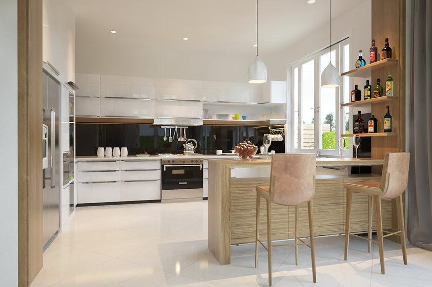large open kitchen design  Interior Design Ideas