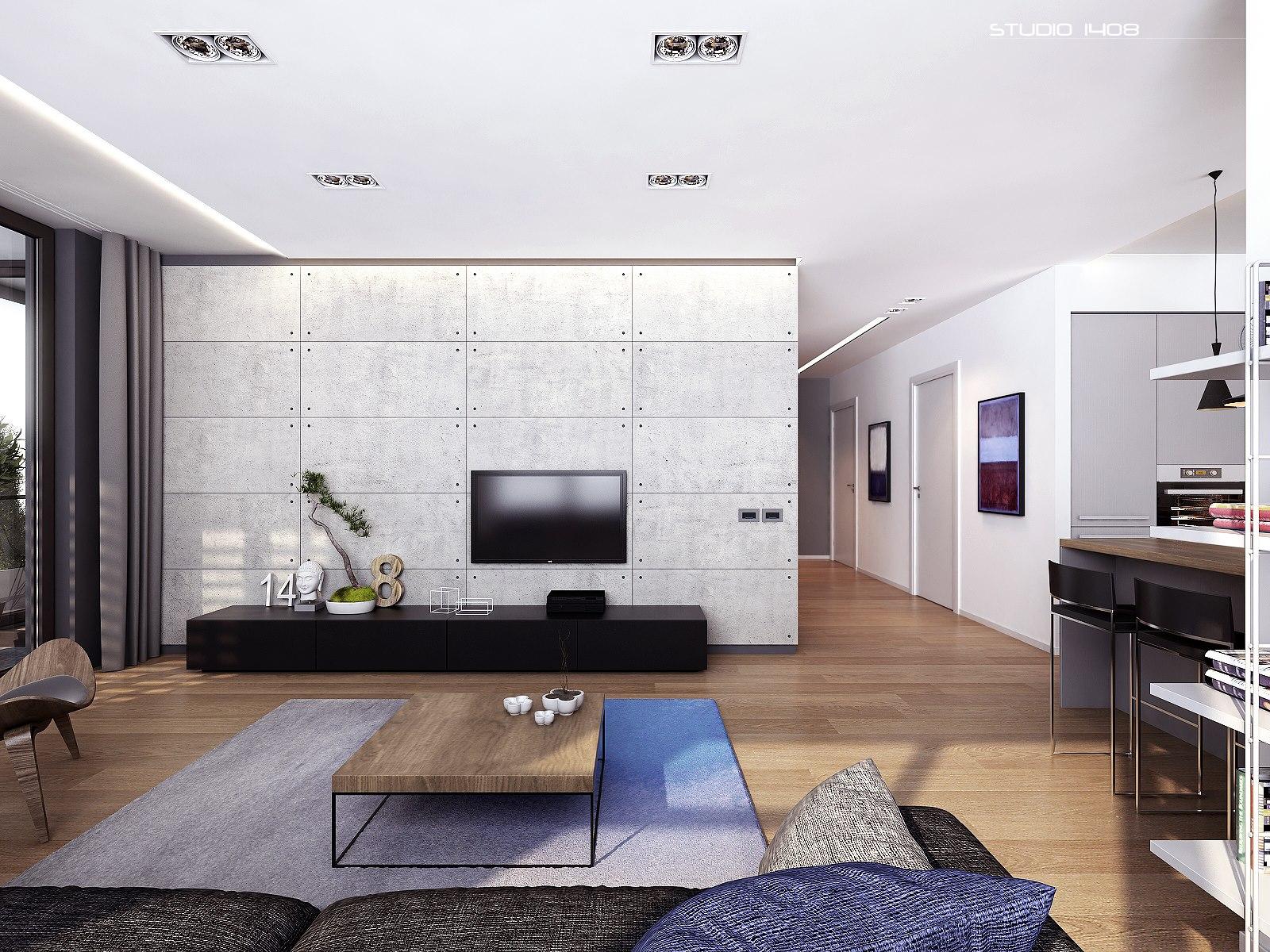 linear design living space  Interior Design Ideas
