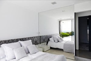 mirror bedroom wall mirrored contemporary bedrooms interior open decorate related