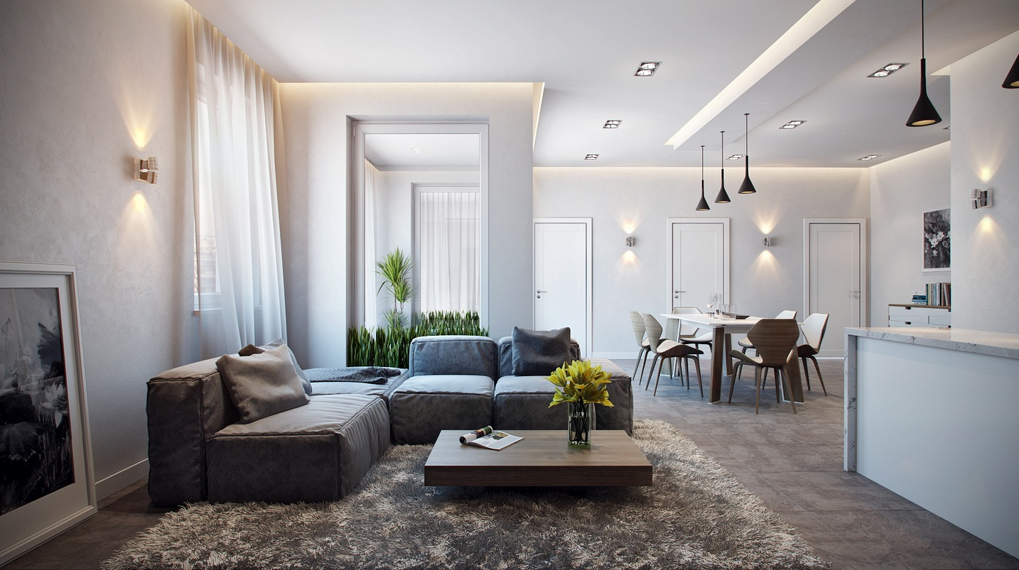 Stylish Apartment in Germany Visualized