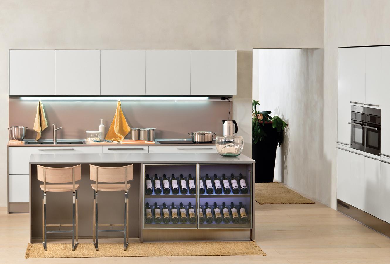 wine rack island kitchen hape play modern italian design from arclinea