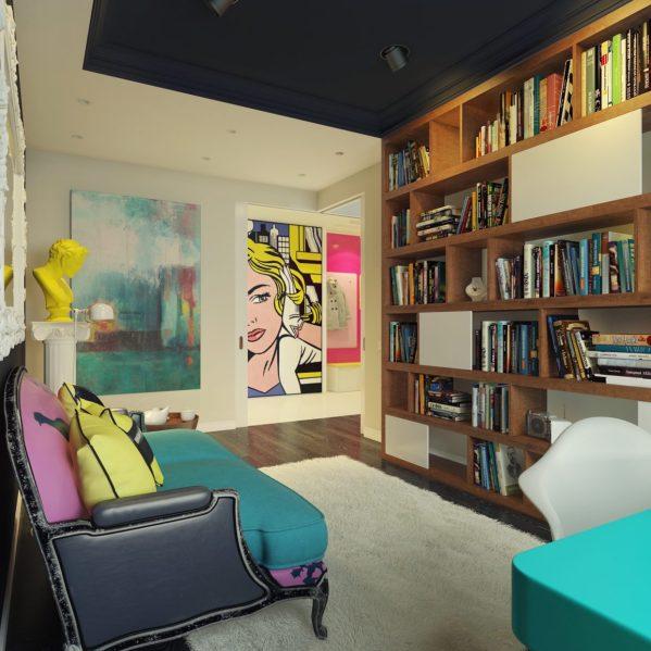 Pop Art Home Interior Design Styles