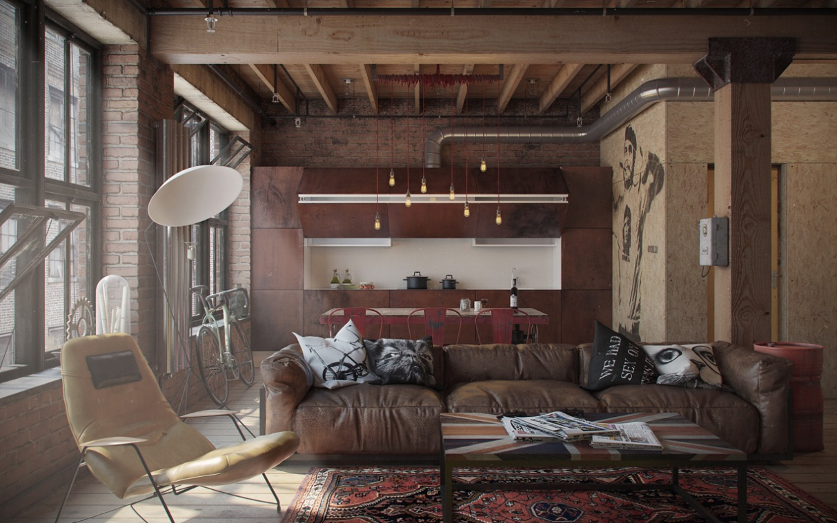 Eclectic Bachelor Retreat